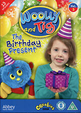 WOOLLY AND TIG THE BIRTHDAY PRESENT DVD VOLUME 3 - CBEEBIES