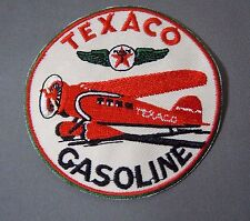 TEXACO Aviation Fuels Embroidered Iron-On Uniform-Jacket Patch 3""