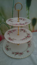 "Royal Albert ""Lavender Roses"" XL 3-tier Cake stand **REDUCED TO CLEAR**"