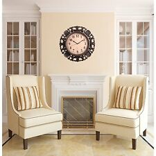 Oversized Indoor/Outdoor Decorative Vintage Wall Clock for Home & Office WAC23