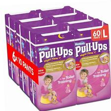 Huggies Pull Ups Night Time Potty Training Pants for Girls, Large - 60 Pants