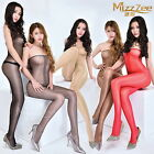 woman sexy sheer bodystocking Wipe the corset Shiny pantyhose female Tcrotch  P