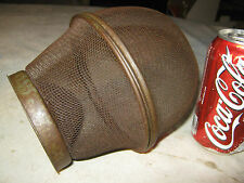 ANTIQUE PRIMITIVE 1870s SCREEN WIRE BRASS COUNTRY KITCHEN FLY TRAP CATCHER TOOL