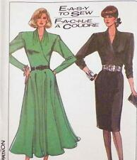 Surplice Dress Sewing Pattern Misses Size 18 & 20 Simplicity 8167 New Old Stock