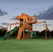Playground Equipment Sets For Backyards Accessories Swing Kids Outdoor Slide