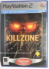 COMPLET jeu KILLZONE platinum sur playstation 2 sony PS2 spiel juego action