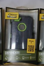 OtterBox - Defender Series Case and Holster for Apple iPhone 5-Black,Blazed,Punk