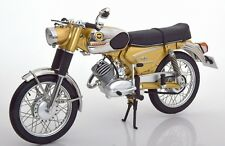 SCHUCO 1/10 MOTO ZUNDAPP KS 50 SUPER SPORT OR et CHROME 1950 !!!!