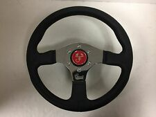 13.25 Inch Steering Wheel Fiat 128 X19 124 with Mounting Hub & Spacer -NEW- #720