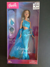 BARBIE Diamond Dazzle TERESA Doll NEW In Box Necklace and Ring 2004 Teal G6200