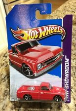 Hot Wheels 2013 HW Showroom '67 Chevy C10 Pick Up Truck RED Quantity