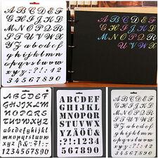 Alphabet Numéro Stérilisation Peinture Scrapbooking Papier Cartes Artisanat