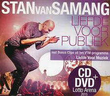 Stan Van Samang : Liefde voor publiek (CD & DVD)