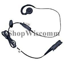 Motorola PMLN5727A PMLN5727 MagOne Swivel Earpiece with inline PTT and Mic