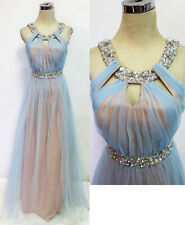 City Triangles Light Blue Prom Formal Gown 5 - $145 NWT
