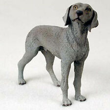 Weimaraner Hand Painted Collectible Dog Figurine