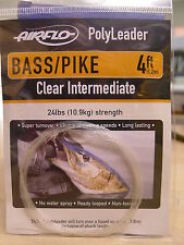 Airflo polyleader Bass/Pike 4ft/1,20 MTR. clear Intermediate