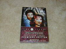 Topps X-FILES MasterVisions Collector Cards premiere edition boxed set