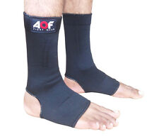 AQF Ankle Foot Support Anklet Pad Brace Guard MMA Muay Thai Boxing Exercise M