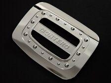 Chrome Gas Filler Cap Fuel Tank Cover For Mitsubishi Montero Pajero Sport 09-14