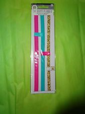 "CREATE 365 HAPPY PLANNER 4 PACK ""ELASTIC BAND / BOOKMARK / PAGE MARKERS"""
