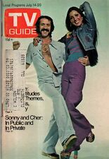 1973 TV Guide July 14 - Sonny and Cher;Michael Tilson Thomas wants to be Dracula