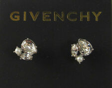 2MM Simulated Pearl Imitation Rhodium-Plated Button Stud Earring
