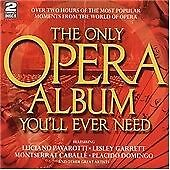 Various - The Only Opera Album You'll Ever Need (2 CD 1999)