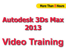AutoDesk 3DS Max 2013 Video Training tutorials CBT - 8+ Hours