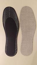 5 Pares Plantillas para zapatos con Carbono activo Depósitos de calzado del