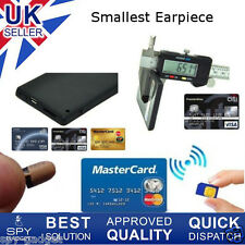 Spy Earpiece New Secret Gsm Id Card Box Bluetooth Wireless Micro Covert Bug 007