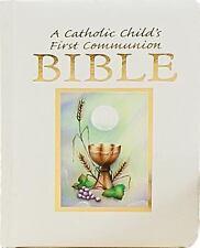 Catholic Childs 1st Communion Bible (2011, Hardcover)