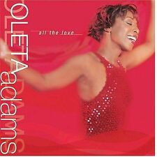 Oleta Adams All The Love 2002 Pioneer Entertainment CD Ricky Peterson Peter Wolf