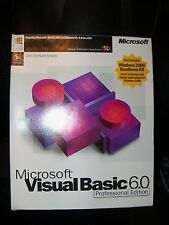Microsoft Visual Basic 6.0 Professional VB 6 PRO Commercial 203-00768 FULL-VER