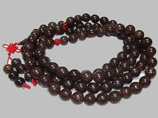 Huge Lucky Knots 108 Bodhi Root Prayer Beads Yoga Meditation Mala Necklace -49""