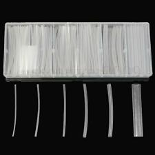 150Pcs Clear 100mm 6 Size φ1.5-10.0mm Heat Shrink Tubing Wire Wrap Tube Kit Box