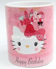 Hello kitty birthday original design 11 oz cup coffee mug cute US Seller
