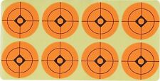 "Stick on Orange Target Spots 1.5"" Air Rifle Airgun Practice Zeroing Targets"