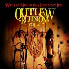Vol. 2-Outlaw Reunion - Willie/Johnny Lee Nelson (2013, CD NEUF) CD-R