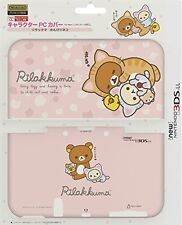 NEW Nintendo 3DS XL LL Rilakkuma Pink PC Hard Protect Case Cover Japan F/S