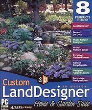 Custom Land Designer Home & Garden Suite by Value Software