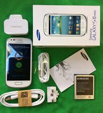 Samsung Galaxy S3 SIII Mini GT-I8190N 8GB Marble White Unlocked New + Warranty