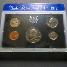 "1972S  KENNEDY HALF  5-COIN ""PROOF"" SET, San Francisco Mint in Display Case #B"