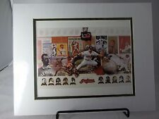 """100 Year Anniversary Collage Cleveland Indians 8"""" x 10"""" Photo  Matted 11"""" x 14"""""""