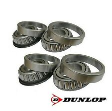 "Dunlop Wheel set of 44643 /44643L Trailer Hub Bearings for 1"" Stub Axle"