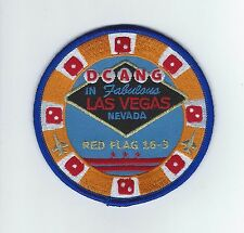 "121st FIGHTER SQUADRON ""RED FLAG 16-3"" patch"