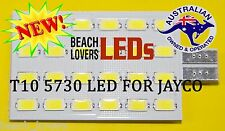 JAYCO T10 5730 24 LED INTERIOR EXTERIOR WEDGE LIGHT BULB rv leds caravan 4x4