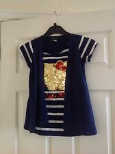 Girls hello kitty top by George, age 9/10 yrs.