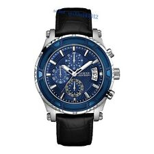 AUTHENTIC GUESS MEN'S CHRONOGRAPH WATCH ICONIC W0673G4 RRP: $449 New 2016