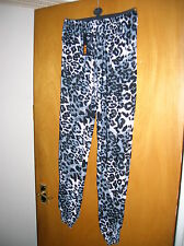 NEW GIRLS LADIES ALI BABA ANIMAL PRINT LEGGINS HARLEM TROUSERS CROSSDRESSER